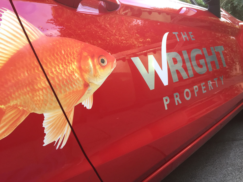 The Wright Property Vehicle Graphics